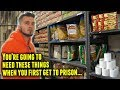 Prison commissary survival items mp3