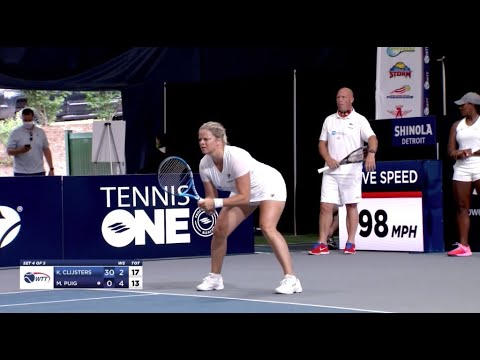Singles: Lisicki And Clijsters Vs Puig - Incredible Comeback For Kim!! WTT 07/24/2020 - Full Match