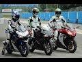 CBR250RR vs R25 vs Ninja 250 RACE!! which one is best ?