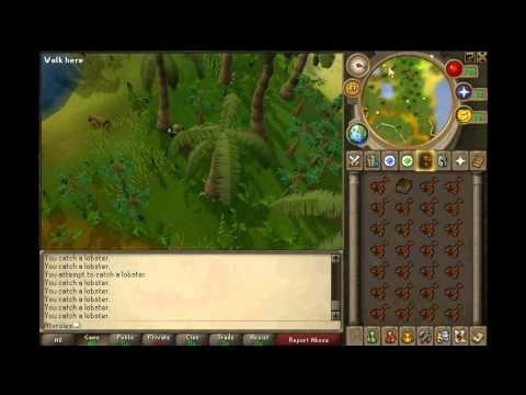 Runescape - Fishing Tips[F2P] - Karamja - Tuna, Lobster And Swordfish