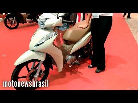 LANÇAMENTO: Honda Biz 2018 - Salão Duas Rodas 2017