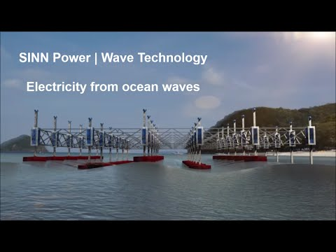 SINN Power | Electricity from ocean waves