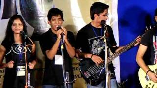BHU performing western group song at East Zone Youth Festival (2011)
