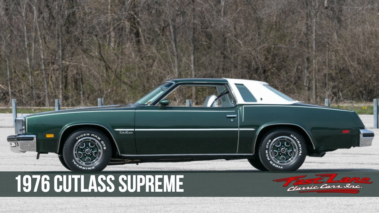 1976 oldsmobile cutlass supreme for sale youtube