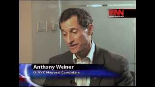 Race for City Hall 2013: Spotlight on Former Congressman Anthony Weiner