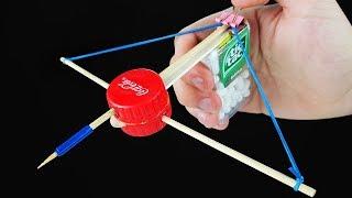 16 Life Hacks to Make a Mini Crossbow