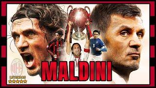 Paolo MALDINI La Leyenda del AC MILAN que Levantó 5 Champions 1985 2009