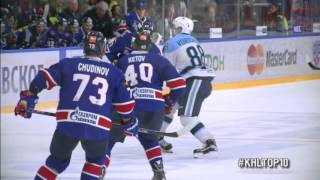 KHL Top 10 Hits for Week 19 / Лучшие силовые приемы 19-й недели КХЛ(, 2016-01-20T12:05:14.000Z)