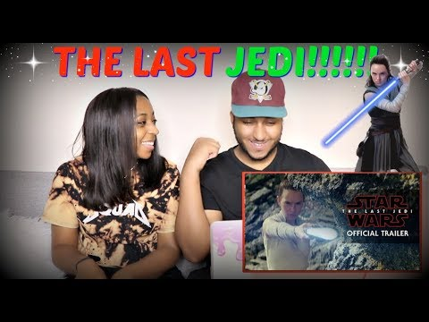 "Thumbnail: Star Wars: ""The Last Jedi"" Trailer (Official) REACTION!!!!"