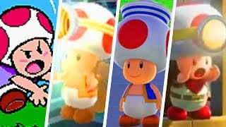Evolution of Toad's Voice in Super Mario Games (1994 - 2018)