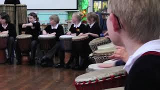 Drumroots African drumming workshops in Schools