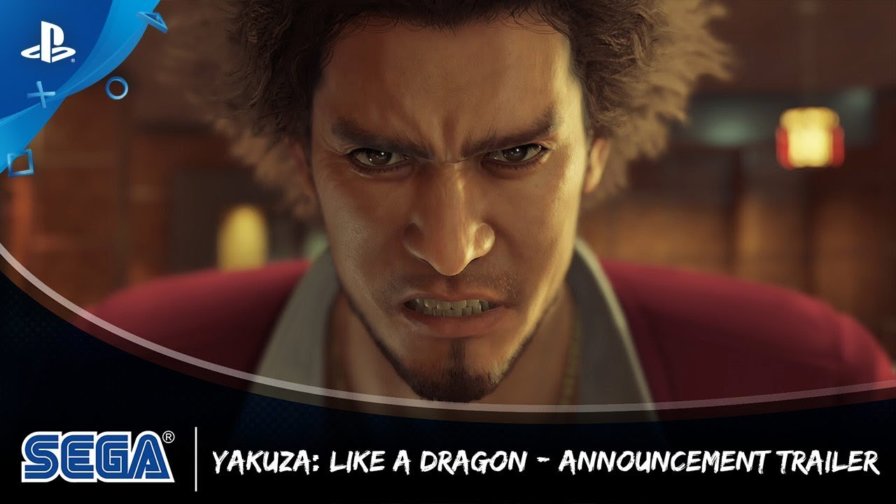 Yakuza: Like a Dragon | Announcement Trailer