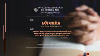 HTTL PHONG THỬ - Chương Trình Thờ Phượng Chúa - 12/09/2021