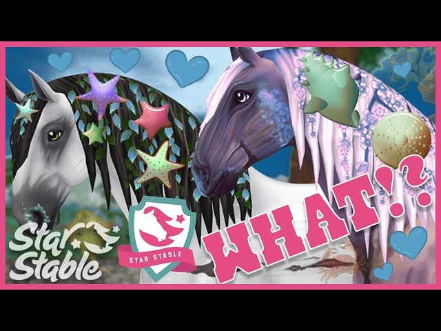 What if the New Wild Jorvik Horses were Sea Creatures? 🐴 Star Stable Online Updates
