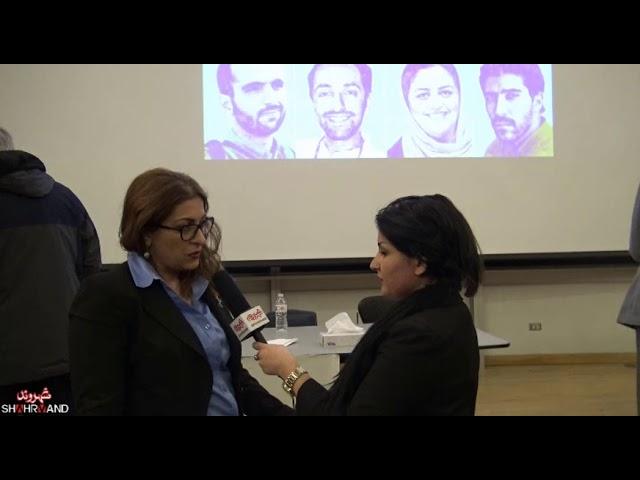 گفت و گوی شهروند با نازیلا گستان در همایش جامعه مدنی ایران و راهی به سوی دمکراسی