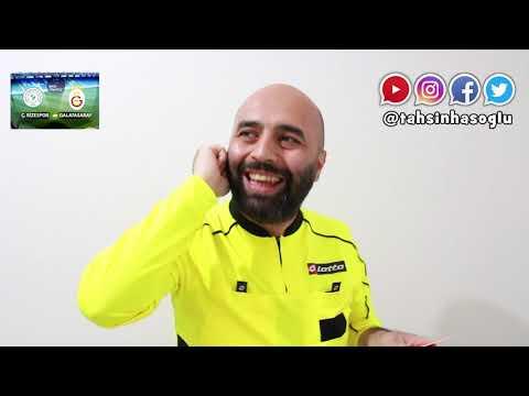 Rize - Galatasaray Maçı Hakemi (Temsili)