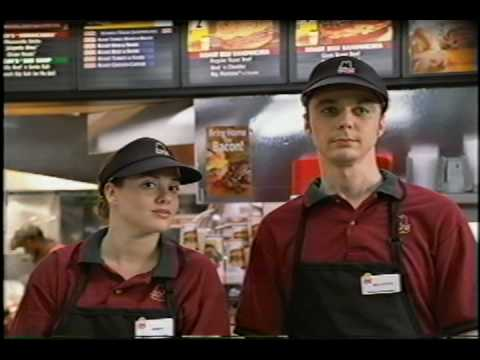 Image result for jim parsons quiznos