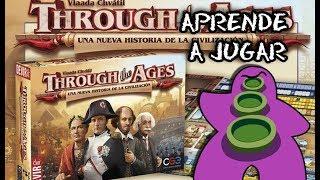 Through The Ages Segunda Edición - Español - Juego de mesa - Reseña - Preparación y cómo se juega