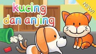 Lagu Anak Indonesia | Kucing dan Anjing