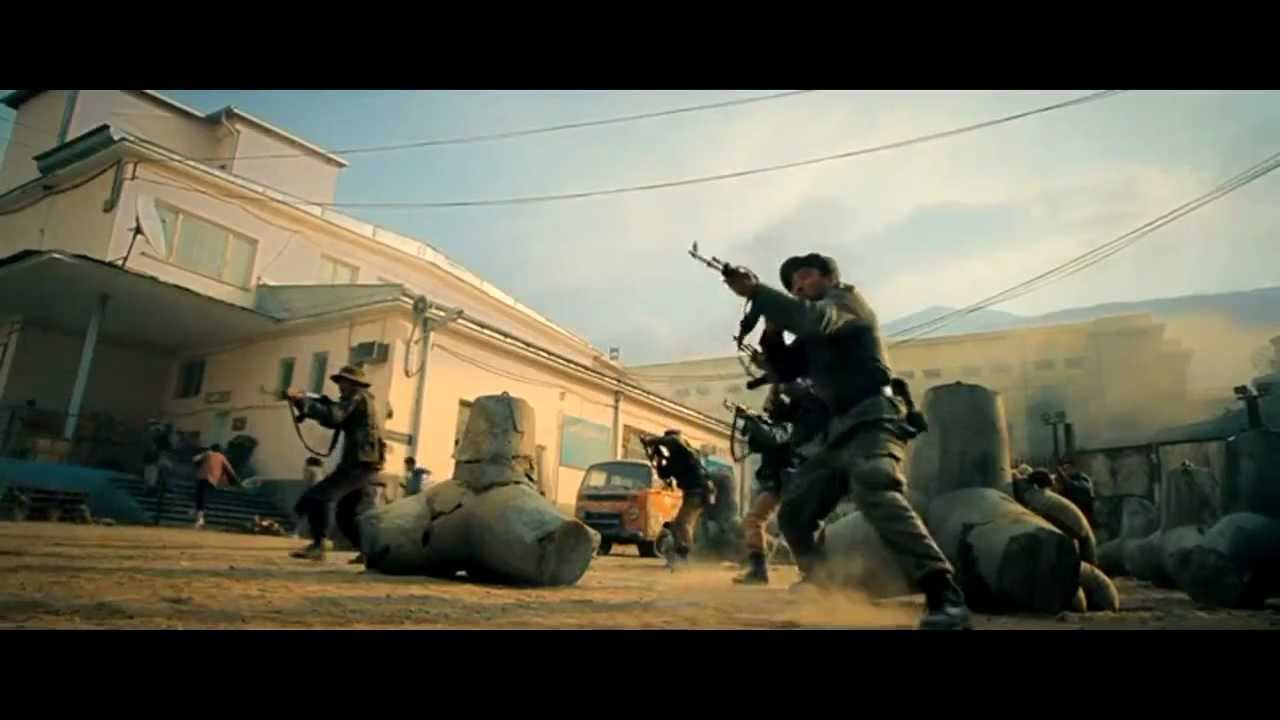 The Expendables 2 | Opening Action Scene - YouTube