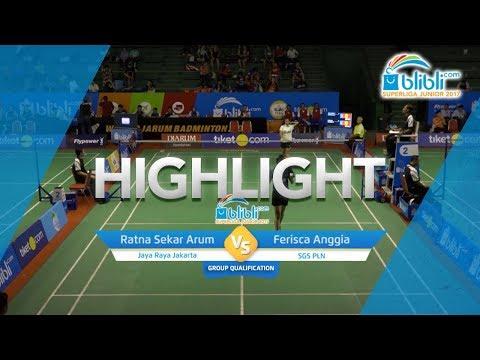 Ratna Sekar Arum (Jaya Raya Jakarta) VS Ferisca Anggia (SGS PLN)