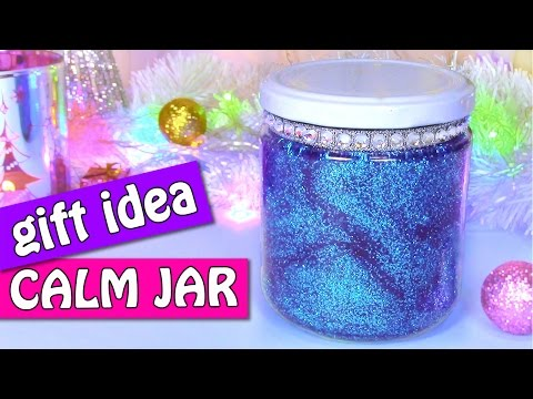 DIY Christmas crafts: Gift idea! CALM JAR -  Innova Crafts