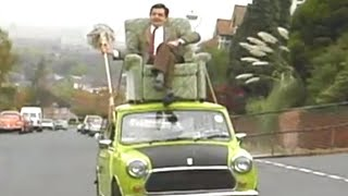 The Awkward Drive Home | Mr. Bean Official Cartoon
