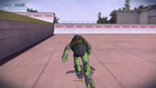 how to do a backflip in tony hawks pro skater 5 first commentary