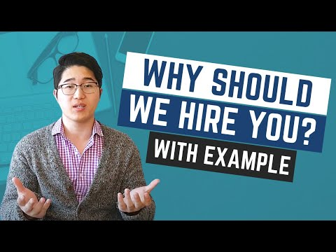 how to answer what makes you the best candidate for this job