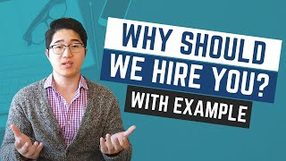 Interview Questions: Why are you the best candidate for the job - Sample Answer