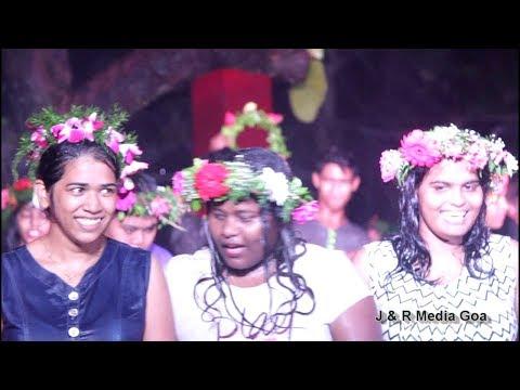 Goan Band ' Royal Status ' singing the song São João at Sao Joao celebration in Mushroom Garden