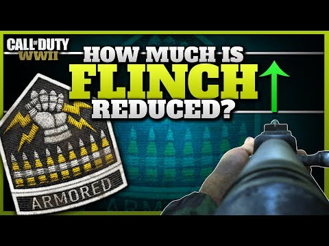 How Much is Flinch Reduced with the Armored Division? (Side-by-side Comparison)