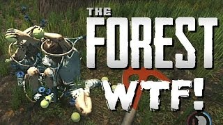 THE FOREST #2 - Tennis Player Massacre!! (The Forest Gameplay Tutorial/Walkthrough)