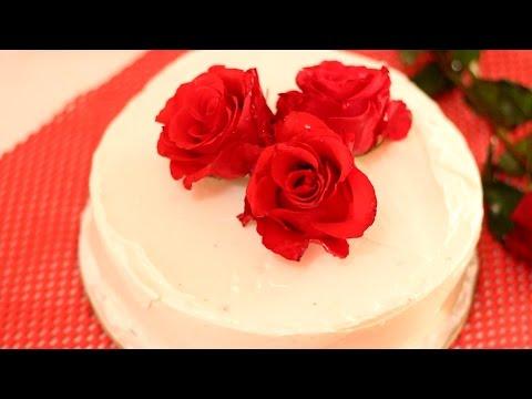 Valentines Day Special Cake Recipe  - Valentine's Day Special  Dessert Recipe By Barnaliskitchen