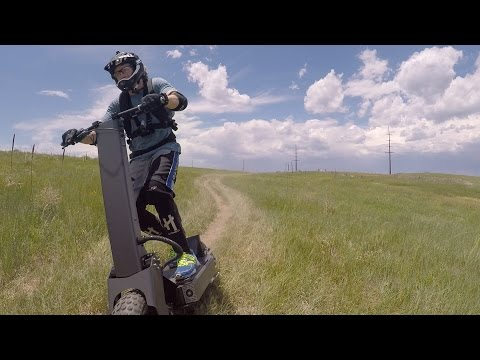 2016 Works Electric B14 Adventure electric scooter - dirtsurfing Colorado Springs