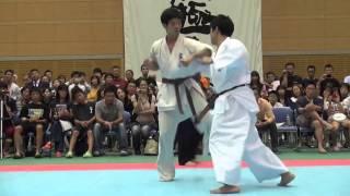 岡崎宏軌(札幌平山道場)vs中尾豊(札幌平山道場)