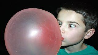 Bubble Gum Blowing Contest!
