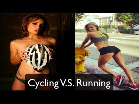 cycling v s running  which is best for weight loss  youtube