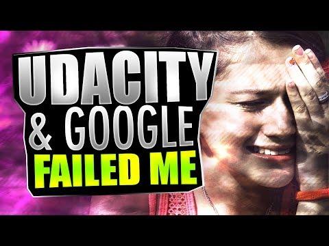 Udacity & Google Nanodegree Scholarship Failed Me | #CodingPhase
