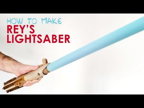 How to Make a Wooden Lightsaber (Skywalker's Lightsaber) - Geekmaking Episode 3