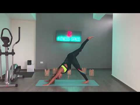 yoga for back pain 🤗 your daily rehab yoga / jk fitness