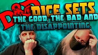 Dungeons and Dragons Dice Box Sets! The Good, The Bad and the Disappointing!