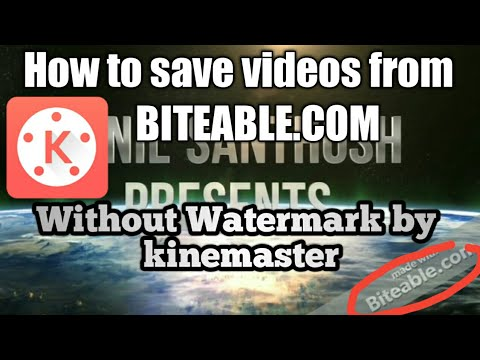 how to download biteable video without watermark
