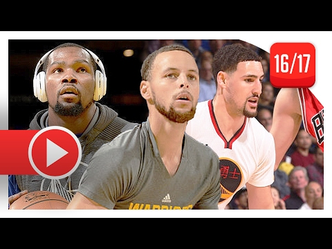 Stephen Curry, Kevin Durant & Klay Thompson Full Highlights vs Bulls (2017.02.08) - TOO STRONG!