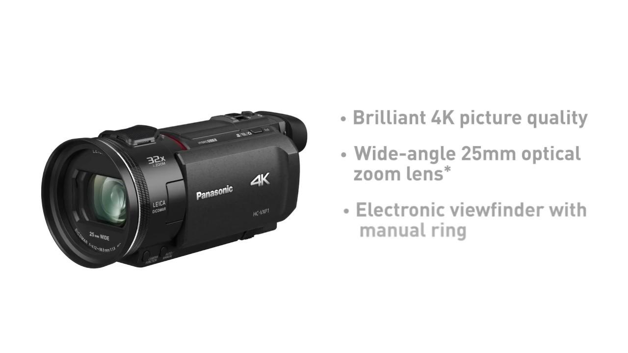 4k ultra hd camcorder hc vxf1 panasonic youtube rh youtube com panasonic m7 video camera manual panasonic video manual