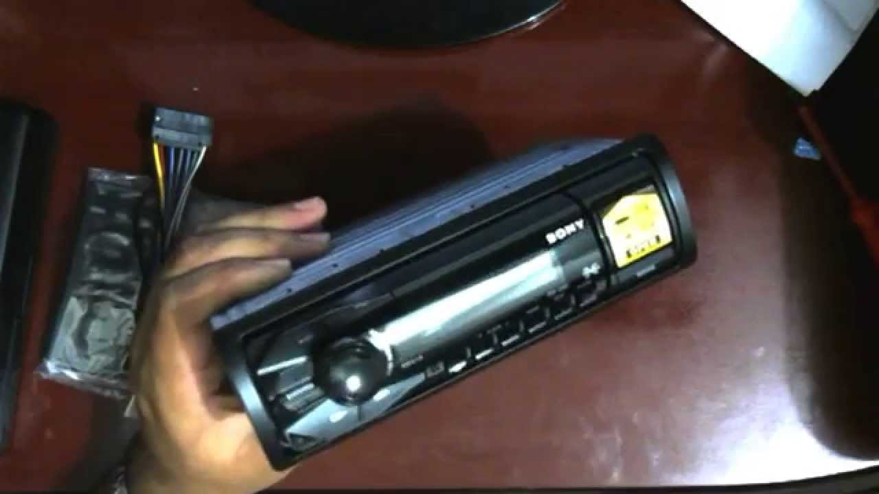 maxresdefault unboxing do mp3 player automotivo sony dsx a35u youtube  at cita.asia