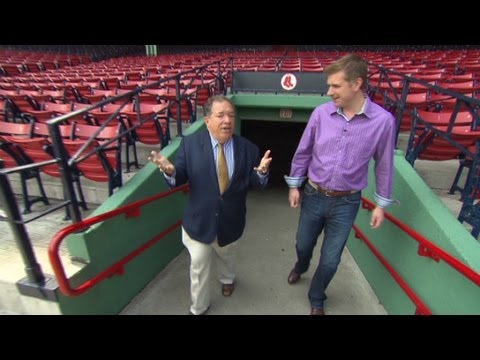 A tour inside the home of the Boston Red Sox