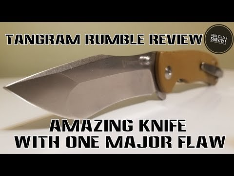 Tangram Rumble review. Amazing knife with...