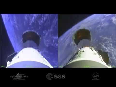 Старт ракеты   Бортовая камера