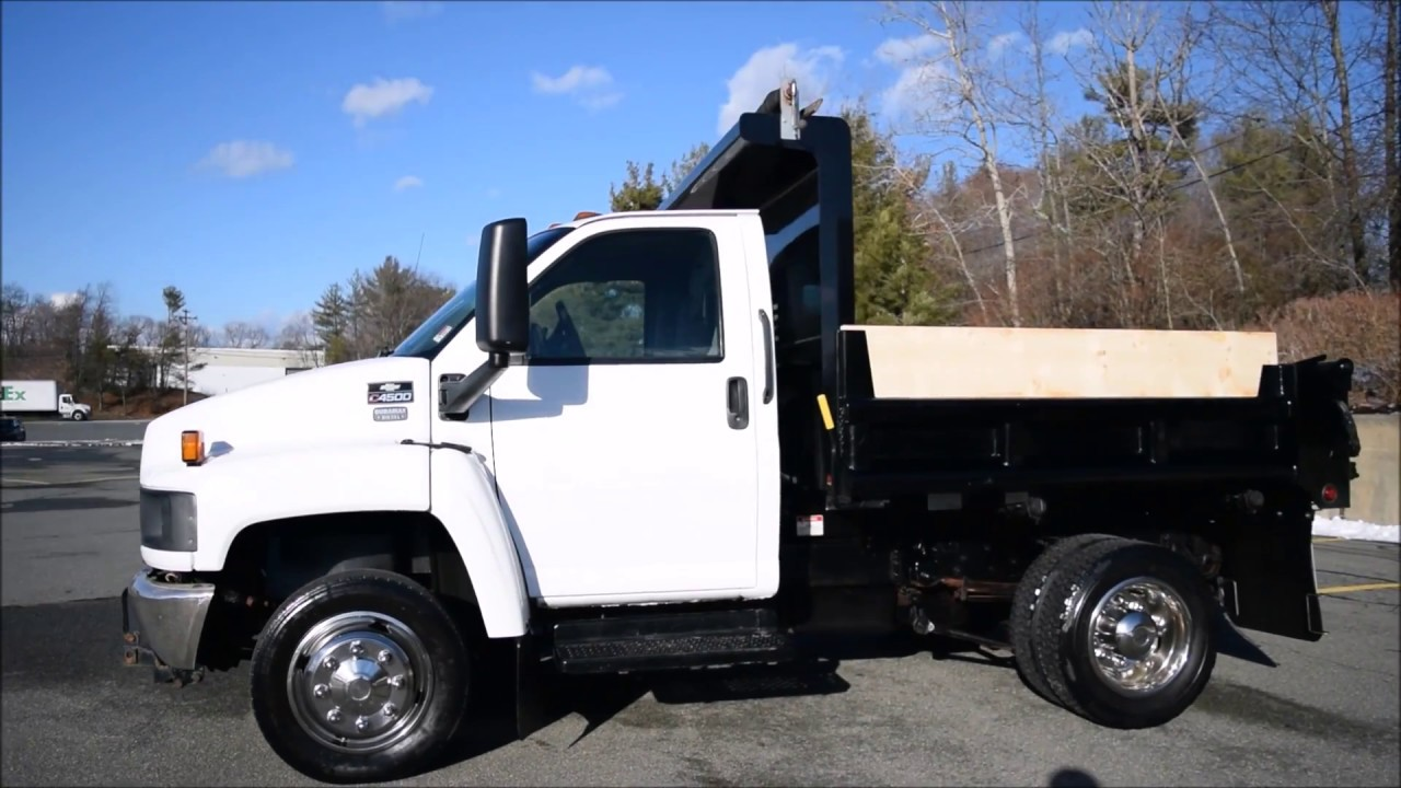 2003 chevy c4500 dump truck youtube. Black Bedroom Furniture Sets. Home Design Ideas